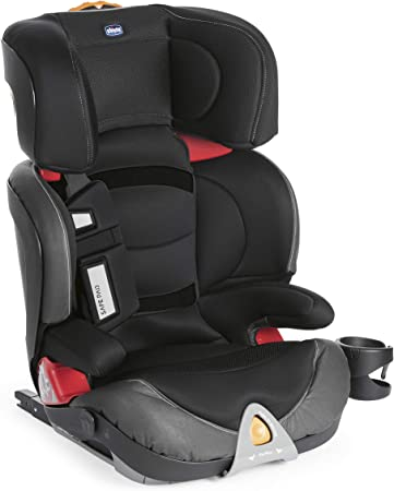 Comprar Chicco Oasys 2-3 Fix Plus - Silla de coche isofix Grupo 2/3 (15-36kg), color negro (Jet Black)