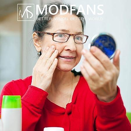 Un Pack de Cuatro Gafas de Lectura 2.0 para Hombres/Mujeres - Lente Clara,Vision Clara - Moda,Practicas,Ligeras,Comodas,Colores ...