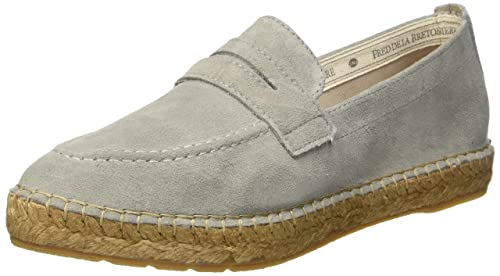 Loafer/Slipper, Alpargatas para Mujer, Gris (Taupe 3121), 39 EU Fred De La Bretoniere