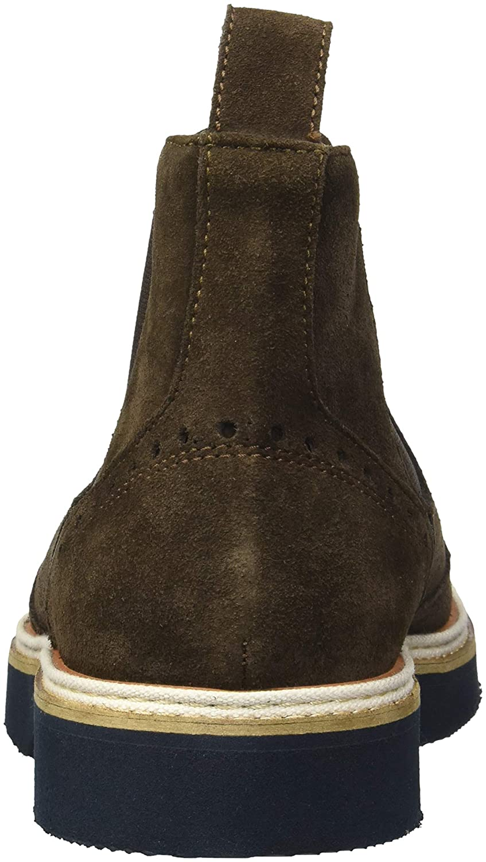 12 Medium US Testa di Moro Bugatchi Mens Lace Up Boot Chelsea