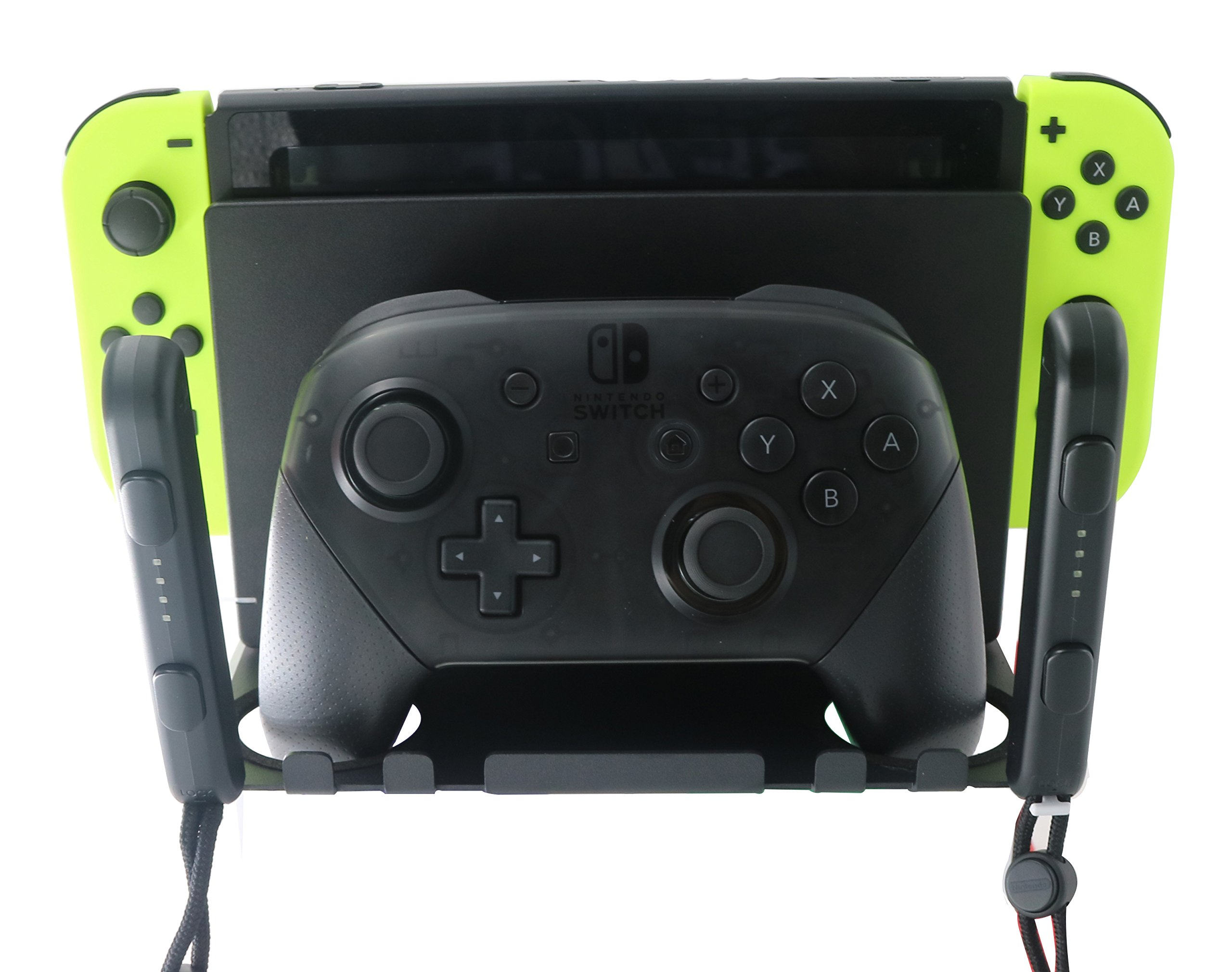 Wall Mount Bracket for Nintendo Switch by J&TOP