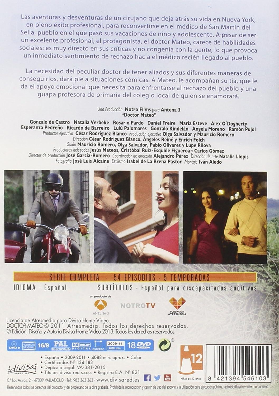 Doctor Mateo. Serie completa [DVD]: Amazon.es: Gonzalo de ...