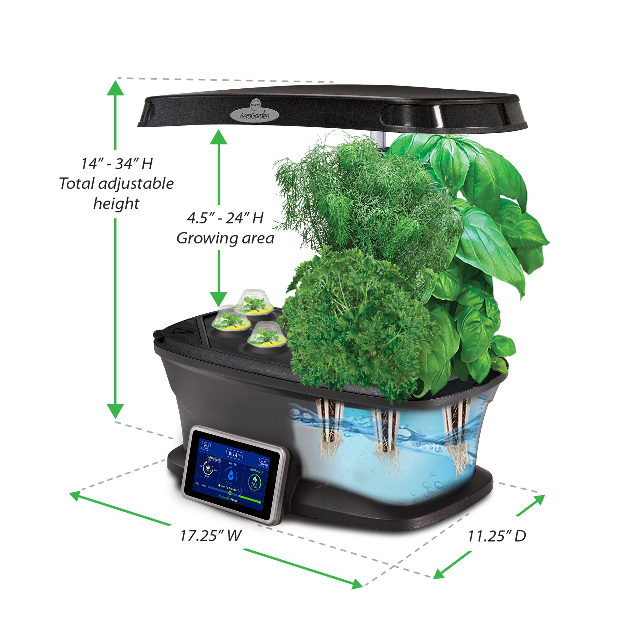 AeroGarden Bounty with Gourmet Herb Seed Pod Kit by AeroGarden (Image #6)
