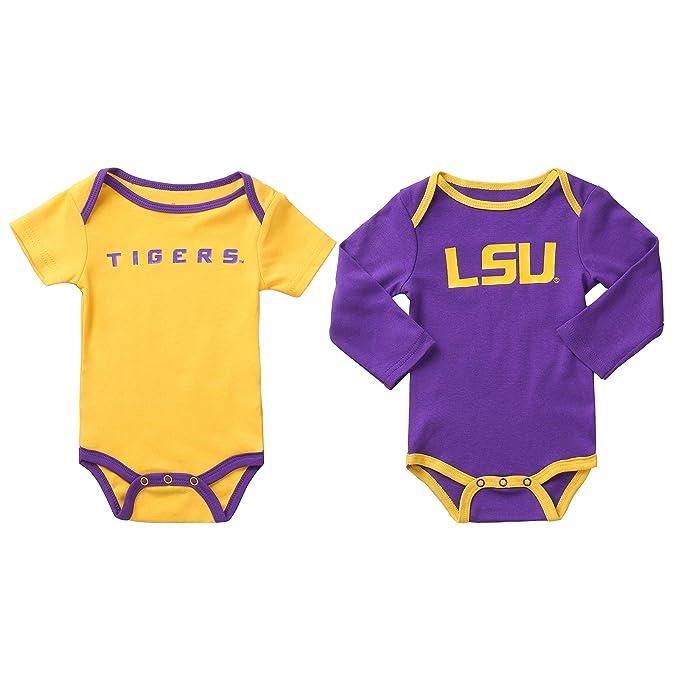 Amazon.com: NCAA LSU Tigers - Body para bebé (2 unidades ...