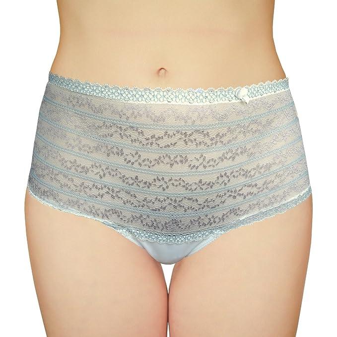 KIA Intim Antifaz de Encaje Tipo bóxer para Hombre pantalón Corto Cintura Alta Mujer lencería Tanga