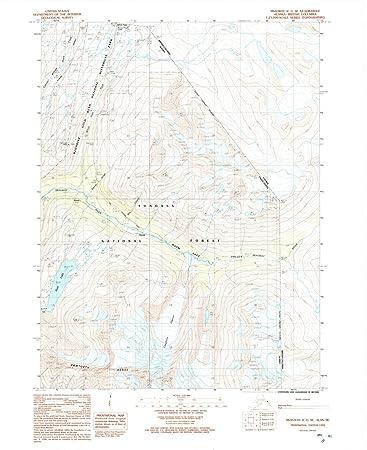 Amazon.com: Alaska Maps | 1992 Skagway, AK USGS Historical ...