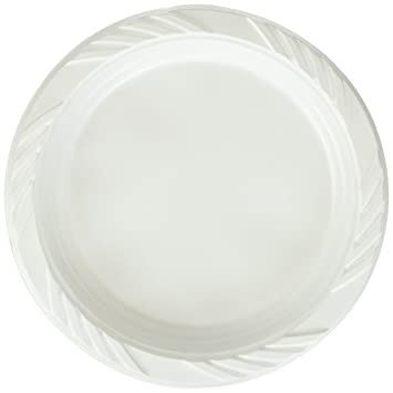 Amazon.com Blue Sky 100 Count Disposable Plastic Plates 6-Inch White Kitchen u0026 Dining  sc 1 st  Amazon.com & Amazon.com: Blue Sky 100 Count Disposable Plastic Plates 6-Inch ...
