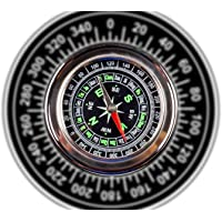 DeoDap Stainless Steel Directional Magnetic Compass