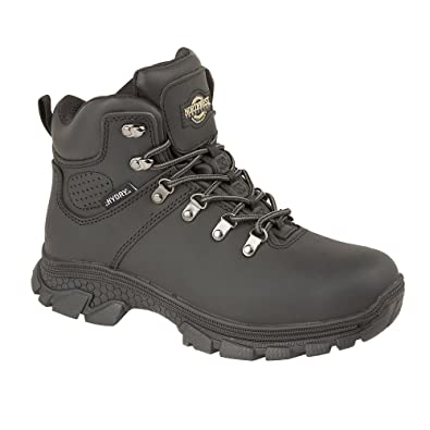 e6fb459bd7f NORTHWEST TERRITORY TESLIN Mens Black Waterproof Leather Hiking Boot (UK  Mens Size 7)
