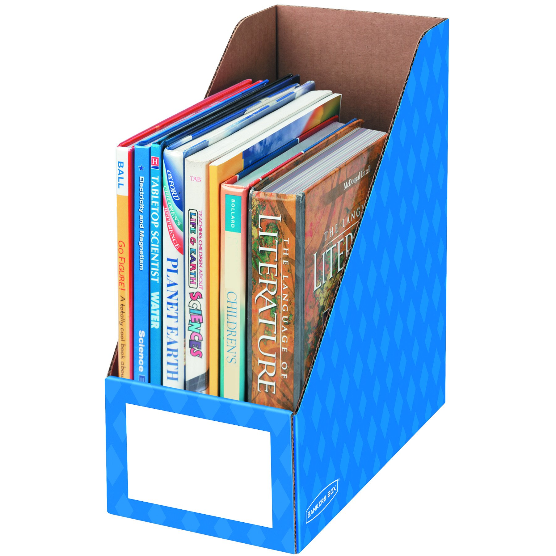 Bankers Box Classroom Magazine File Organizer, 6-Inch (3380801)