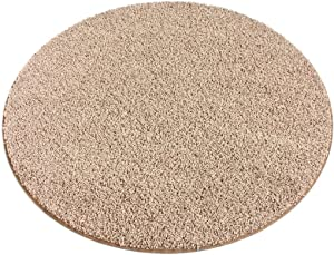 Koeckritz Rugs 7' Round Taffy Apple Area Rug Carpet. 25 oz FHA Certified. Multiple Sizes and Shapes to Choose from