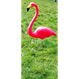 3er set flamingo gartenstecker aus metall figur vogel. Black Bedroom Furniture Sets. Home Design Ideas