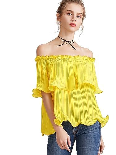 Romwe – Camisas – Túnica – para mujer