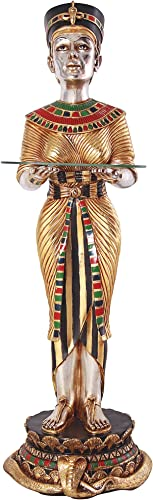 Design Toscano The Egyptian Queen s Faithful Servant Statue, Dimensions 14.5 Wx14.5 Dx42.5 H 16.5 lbs