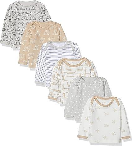 Lot de 5 TupTam T-Shirt /à Manches Longues pour B/éb/é
