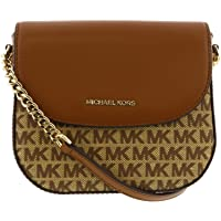 Michael Kors Women's Mott Half Dome Crossbody Leather Cross Body Bag