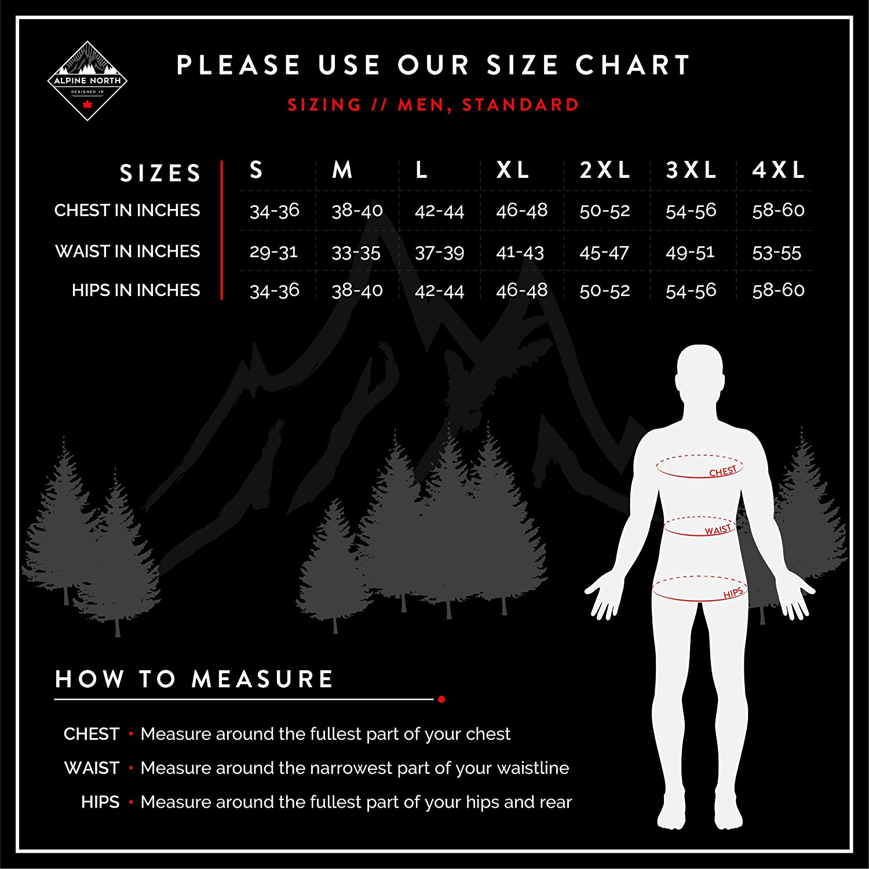 Alpine North Mens Mens Vegan Down Drawstring Winter Jacket Down Alternative Coat