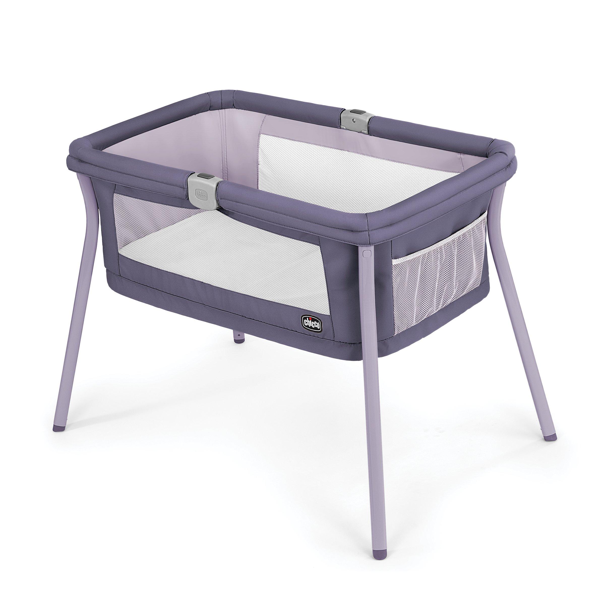 Chicco LullaGo Portable Bassinet, Iris