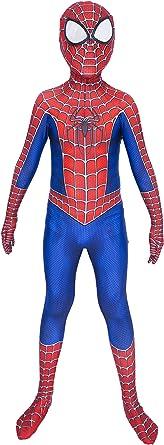Grneric Superhero Spandex Jumpsuit Bodysuit 3D Zentai Halloween Cosplay Suit