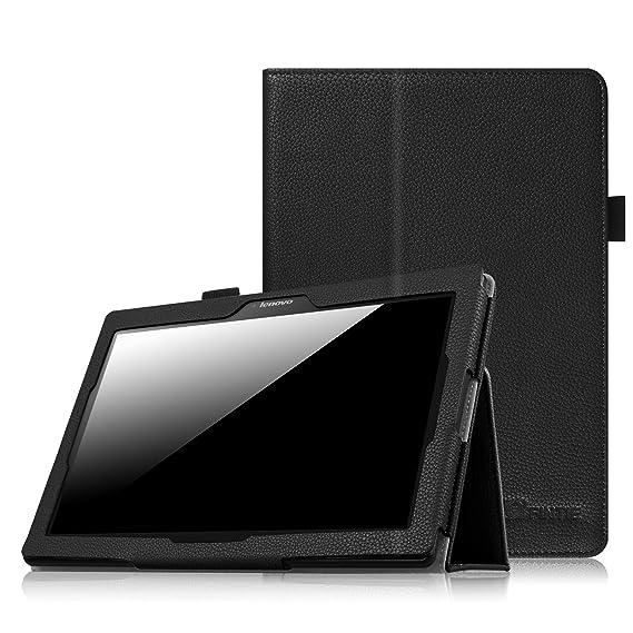 newest 12e46 854a4 Fintie Lenovo Tab 10 Case - Premium PU Leather Folio Cover for Lenovo  TB-X103F Tab 10 / Tab 3 10.1