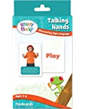 Brainy Baby Sign Language Flashcard Set Talking Hands Discovering Sign Language Deluxe Edition