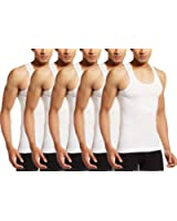 VIP Supreme Men's Sleeveless Cotton Vest (Pack of 5)