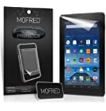 "MOFRED® New Amazon Fire 7"" (5th Generation 2015 Release) Screen Protectors with Cleaning Cloth And Application Card (6 in Pack)"