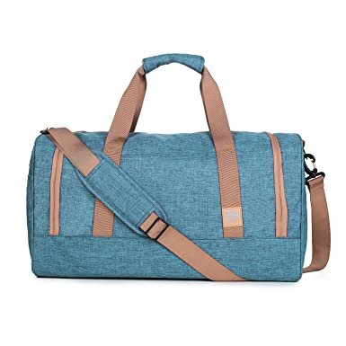 c4425bd5d7da Image Unavailable. Image not available for. Color  BAGSMART Travel Duffel  Bag Large Weekender Bag Carry-on Luggage with Shoe Bag