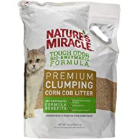 Nature's Miracle Premium Clumping Corn Cob Litter, 10 lb.