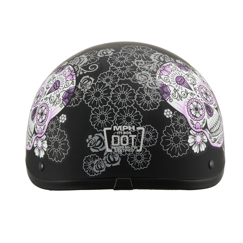 Milwaukee Performance Helmets Womens Size half helmet MAT BLACK XL