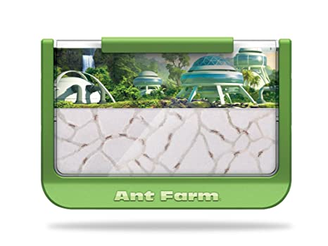 Uncle Milton Ant Farm Live Ant Habitat, 60th Ant Iversary Edition,  Rainforest Science