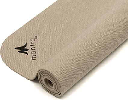 "Endurance Yoga Mat (28"" x 76"") Wider, Longer Exercise Pad for Pilates, Stretching, Workouts, Fitness 