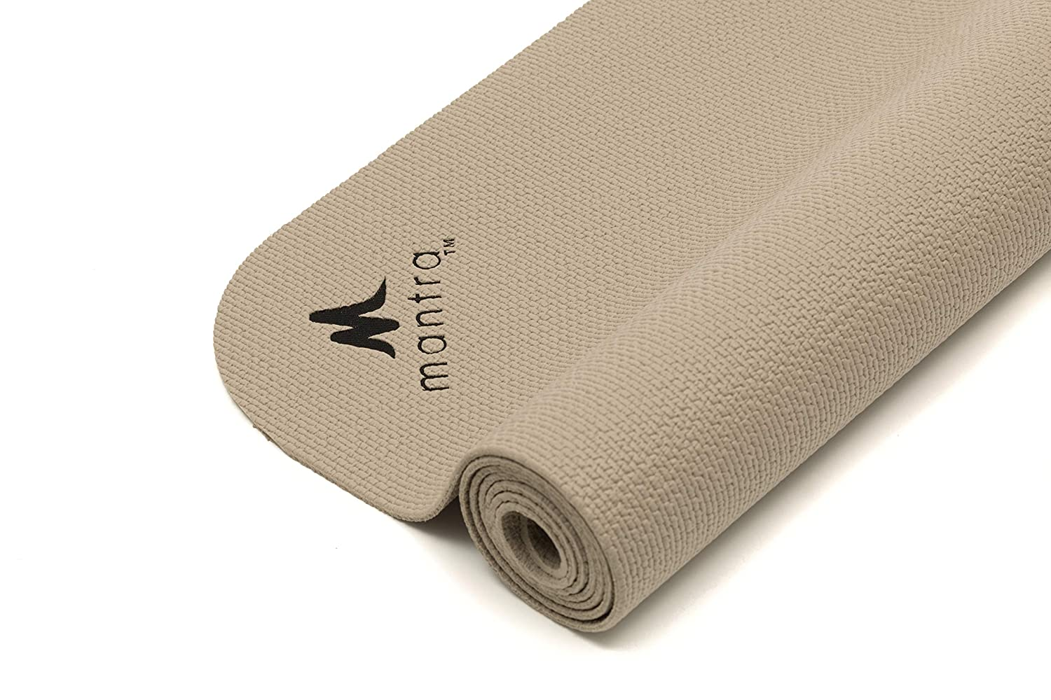 Endurance Yoga Mat 28 x 76 Wider, Longer Exercise Pad for Pilates, Stretching, Workouts, Fitness Textured, Comfort Lightweight, Portable, Hypoallergenic