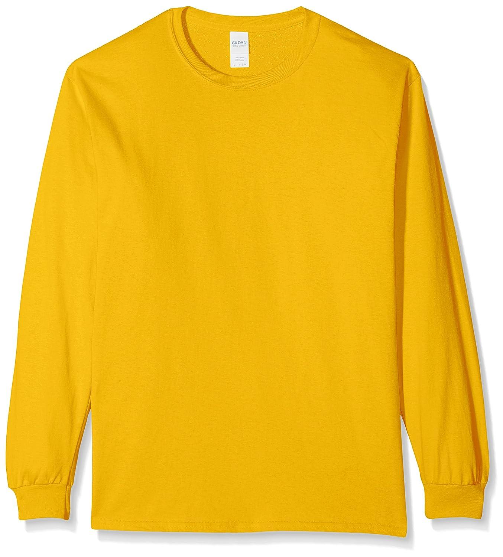 8bd95c9b0 GILDAN Men's Ultra Cotton L/Sleeve Tee T - Shirt