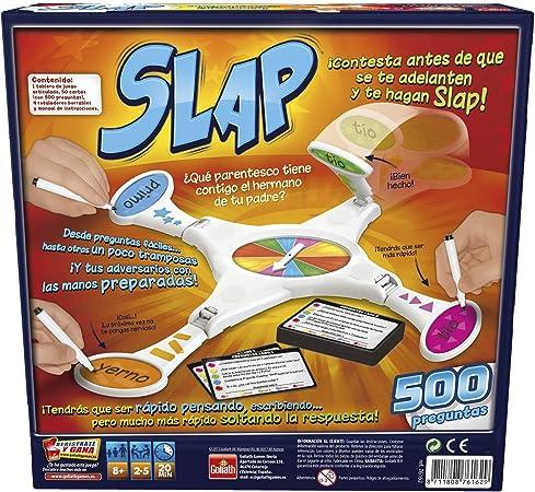 Goliath - Slap, Juego de Preguntas para toda la Familia (76162): Amazon.es: Juguetes y juegos