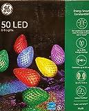 GE EnergySmart 50 LED C-9 Holiday String Lights Indoor/Outdoor Use