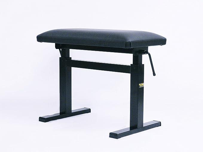 スペインHIDRAU(イドラウ)社製 新品ピアノ椅子 モデルBM44H ブラック 座面傾斜:平