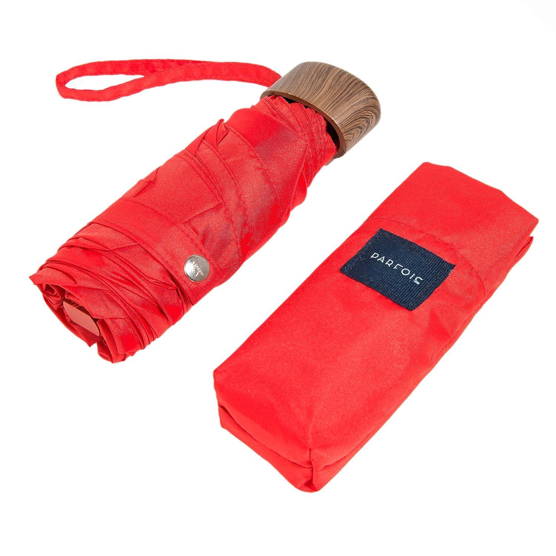 Parfois - Paraguas Essential - Mujeres - Tallas S - Rojo: Amazon.es: Equipaje