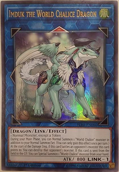 3x YuGiOh COTD-EN047 Imduk the World Chalice Dragon Rare Unlimited Card