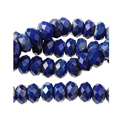 "New Beautiful 6mm Round Blue Sapphire Gemstone Loose Beads 15/"""