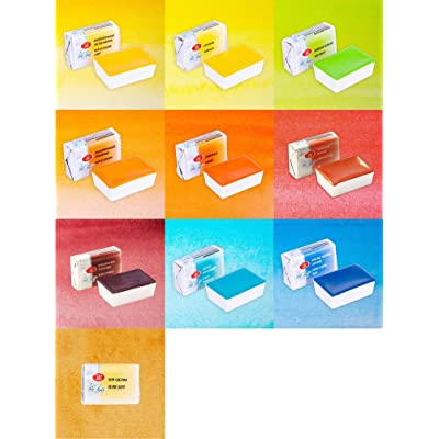White Nights Watercolours - Set of 10 for 2020 Newest Color awaliable: Toys & Games