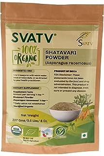 SVATV Shatavari Powder (Asparagus Racemosus) 1/2 LB, 08 oz, 227g