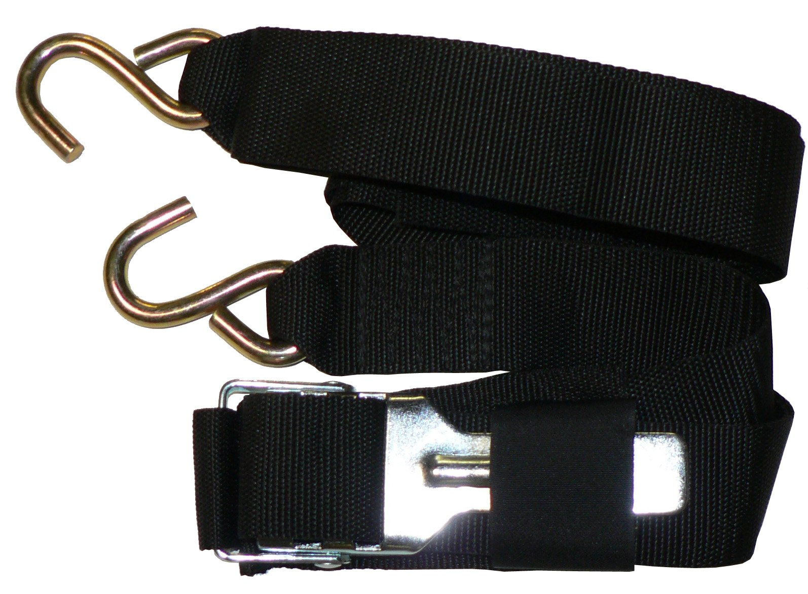 Rod Saver Paddle Buckle Gunwale 2 inch Tie-Down (16 Feet) by Rod Saver Marine Accessories