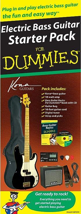 Amazon.com: Bass Guitar Starter Pack for Dummies: Musical ...
