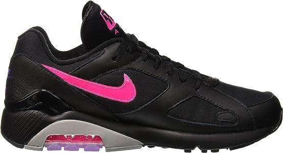 Nike Men's Air Max 180 Black/Pink Blast