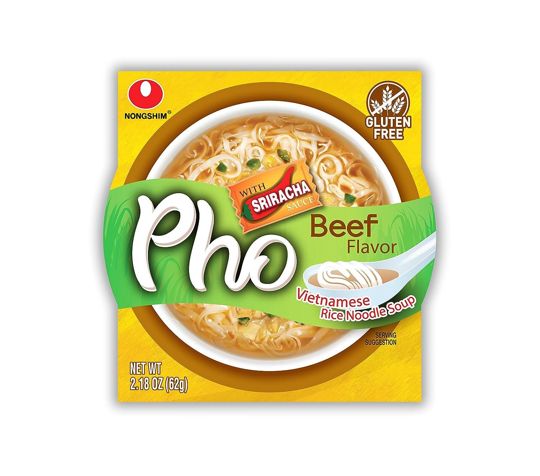 NongShim Bowl Noodle Soup, Kimchi, 3 03 Ounce (Pack of 12)