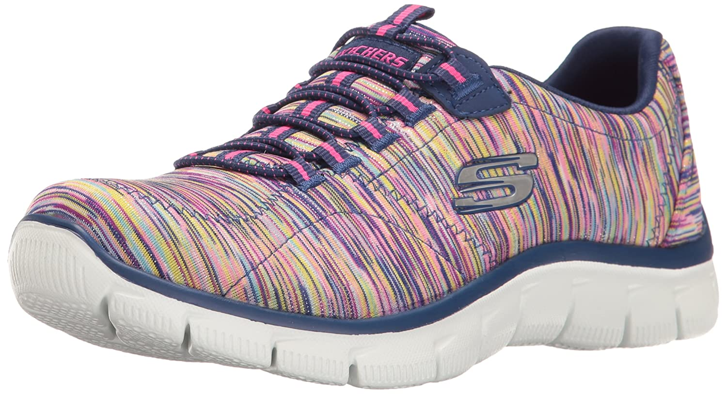 Skechers Sport Women's Empire Fashion Sneaker B01K4GL0TO 10 B(M) US|Navy/Multi