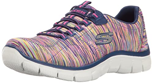 Damen Schuhe Sneakers Game On Empire Sneaker Skechers Grau