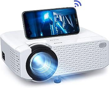 Crosstour 3500-Lumens LED Wireless Video Mini Portable Projector