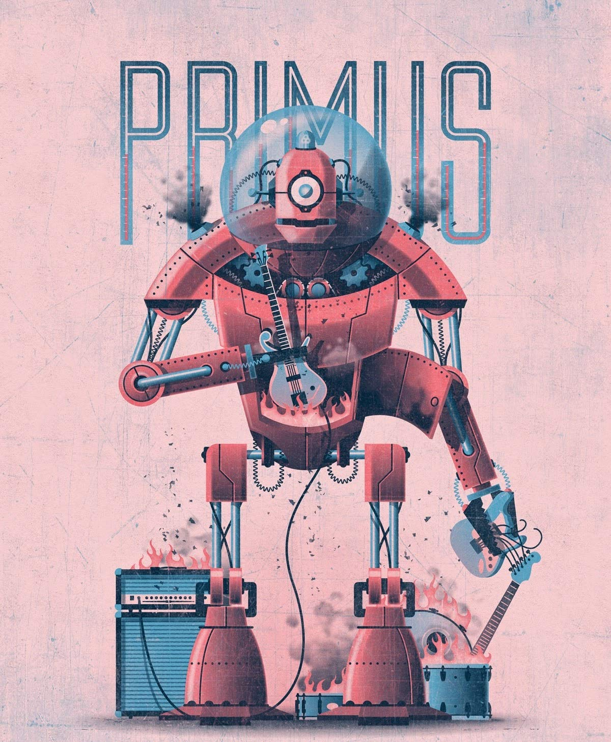 Game Room Poster Primus Poster Print Canvas Art Wall Art Primus Art Posters for Wall Original Art Poster Gift No Frame Poster Artwork